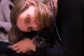 Elena e Ghiri il barboncino yogico